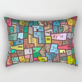 Urban Civilization Rectangular Pillow
