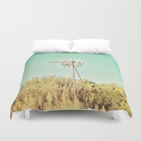 american beauty Duvet Covers featuring American Beauty Vol 13 by Farmhouse Chic