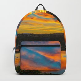 Morning Colors in the Back Bay Backpack