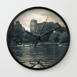 Esplanade Kayak Wall Clock