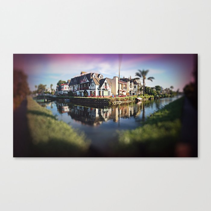 The Canals Pt.2  Canvas Print