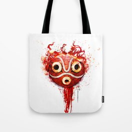princess mononoke mask  Tote Bag