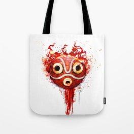 princess mononoke mask  Tote Bag