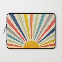 Sun Retro Art III Laptop Sleeve