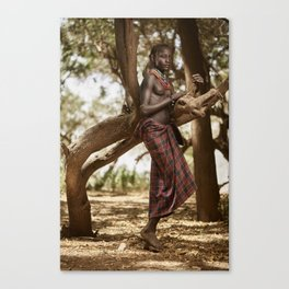 Dassanech Beauty Canvas Print