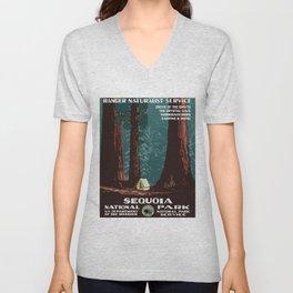 Sequoia National Park Unisex V-Neck