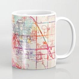 Midland map Michigan MI Coffee Mug