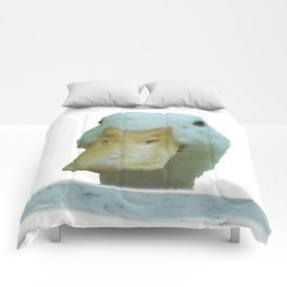 Peeking Duck Vector Comforters