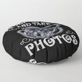 Photographer Photographer Gift Analog Photography Floor Pillow