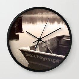 Mason Lake: SeaNymph Wall Clock