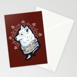 Wolf Protector (Red Edition) Stationery Cards