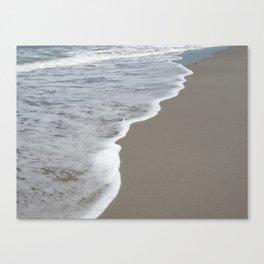 Beach Waves 1 Canvas Print