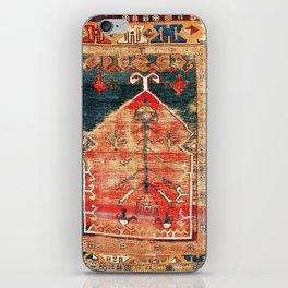 Konya Central Anatolian Niche Rug Print iPhone Skin