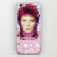 david bowie iPhone & iPod Skins featuring David Bowie by Artstiles
