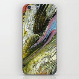 Cosmic whirlwind I iPhone Skin