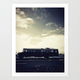 we bus Art Print