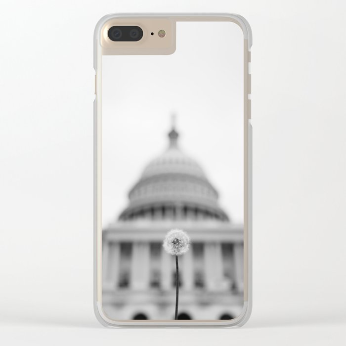 American Wishes Clear iPhone Case