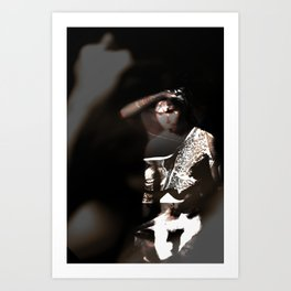 The Painted Hand Art Print