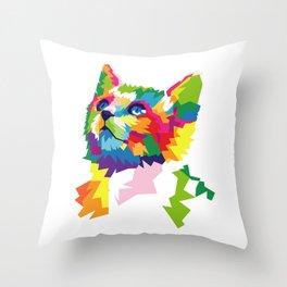 Cat Animal Pattern Throw Pillow