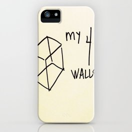 My 4 Walls iPhone Case
