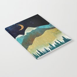 Snowy Night Notebook