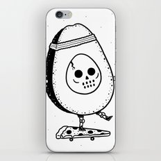 Pizzacado iPhone & iPod Skin