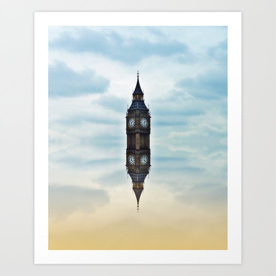 Suspended time Art Print