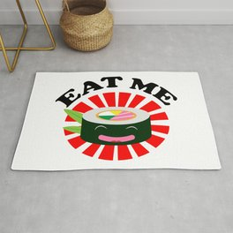 Eat Me Kawaii Sushi Rug