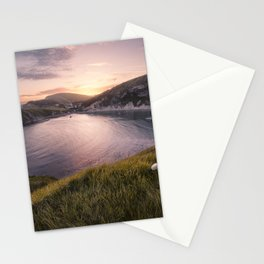 Last Light at Lulworth Stationery Cards