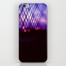 neon lights iPhone & iPod Skin