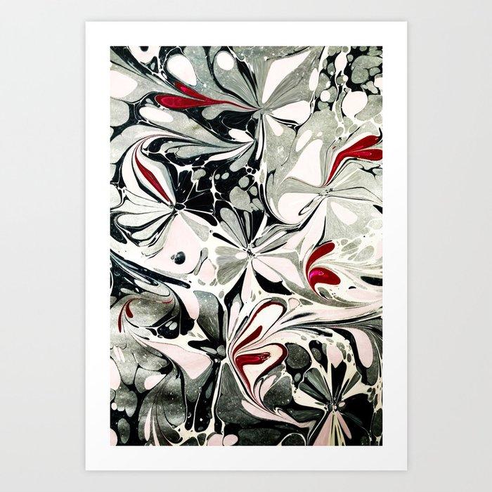 Watercolors Pattern Art Print