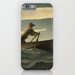 The Lobsterman, The Doryman, 1944 by Newell Convers Wyeth iPhone Case