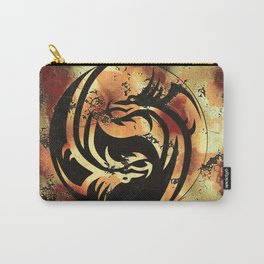 Yin and Yang Dragons Artwork Carry-All Pouch