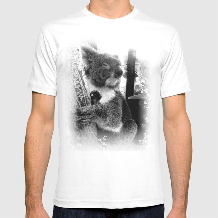 Koala T-shirt by artgaragefinland | Society6