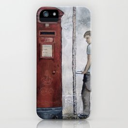 Boy With A Letterbox iPhone Case