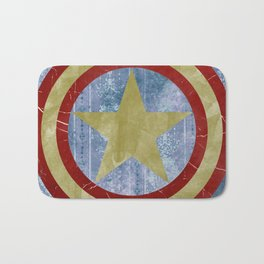 Vintage Capt America Bath Mat