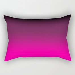 Black and Pink Color / GFTColor003 Rectangular Pillow