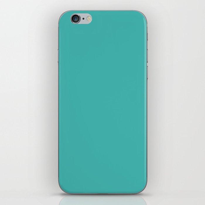 Verdigris - solid color iPhone Skin
