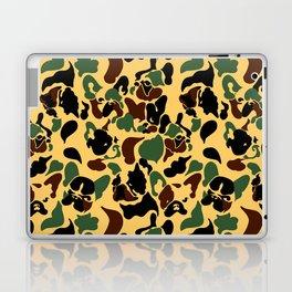 Frenchie Camouflage Laptop & iPad Skin