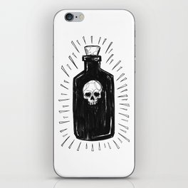 The Devil's Drink iPhone Skin