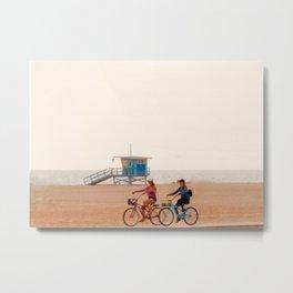 Cali Bike Rides Metal Print