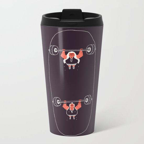 Heavyweight Skateboarding Metal Travel Mug