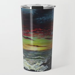 Beachscape Travel Mug