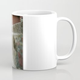 Cat On The Ledge Coffee Mug