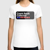 comic book T-shirts featuring Comic Book Collector by 1982 est. by A.W. Owens