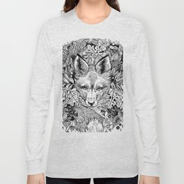 hidden fox Long Sleeve T-shirt