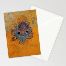 Baby Octopus Stationery Cards
