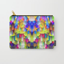 Colorful digital art splashing G395 Carry-All Pouch