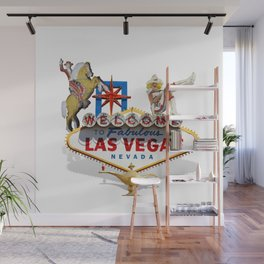 Las Vegas Welcome Sign Wall Mural