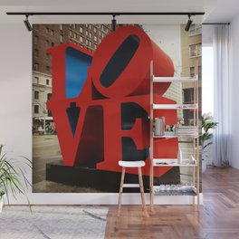 Love Sculpture - NYC Wall Mural